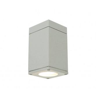 NORLYS 795AL | Sandvik Norlys stropné svietidlo 1x GU10 IP54 hliník