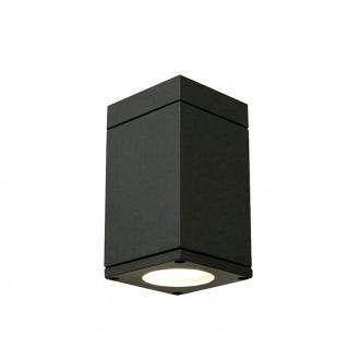 NORLYS 795GR | Sandvik Norlys stropné svietidlo 1x GU10 IP54 grafit