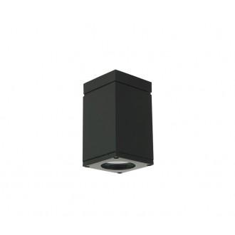 NORLYS 796B | Sandvik Norlys stropné svietidlo 1x GU10 265lm 2700K IP54 čierna