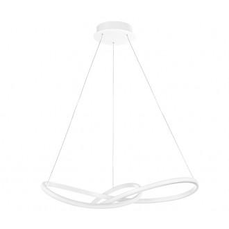 NOVA LUCE 1701101001 | Fusion-NL Nova Luce visiace svietidlo 1x LED 4081lm 3000K biela