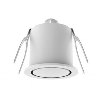 NOVA LUCE 6800202 | Technical Nova Luce zabudovateľné svietidlo Ø44mm 1x LED 3000K biela