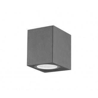 NOVA LUCE 710041 | Nero-NL Nova Luce stenové svietidlo 1x GU10 IP54 tmavošedá