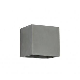 NOVA LUCE 71615601 | Mood Nova Luce stenové svietidlo 1x G9 IP54 sivé