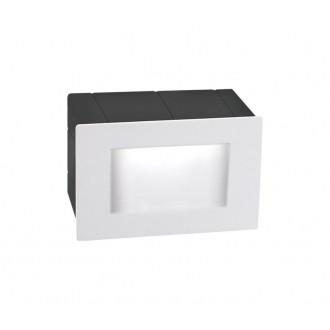 NOVA LUCE 726402 | Krypton Nova Luce zabudovateľné svietidlo 1x LED 270lm 3000K IP54 biela