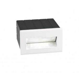 NOVA LUCE 726403 | Krypton Nova Luce zabudovateľné svietidlo 1x LED 145lm 3000K IP54 biela