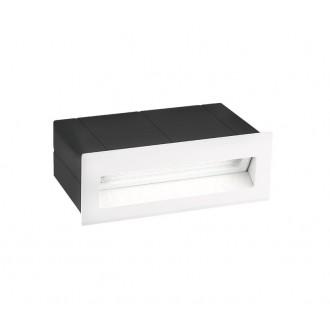NOVA LUCE 726405 | Krypton Nova Luce zabudovateľné svietidlo 1x LED 270lm 3000K IP54 biela