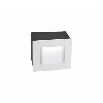 NOVA LUCE 727001 | Krypton Nova Luce zabudovateľné svietidlo 1x LED 270lm 3000K IP54 biela