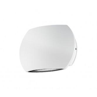 NOVA LUCE 741661 | Como Nova Luce stenové svietidlo 2x LED 510lm 3000K IP54 biela