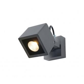 NOVA LUCE 752470 | Focus-NL Nova Luce rameno stenové svietidlo otočné prvky 1x LED 420lm 3000K IP54 tmavošedá