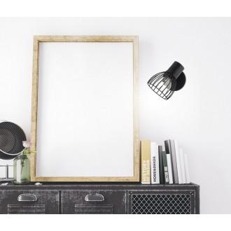 NOVA LUCE 770010 | Fiumicino Nova Luce spot svietidlo otočné prvky 1x E14 matná čierna