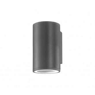 NOVA LUCE 773221 | Nodus-NL Nova Luce rameno stenové svietidlo 1x GU10 IP54 tmavošedá