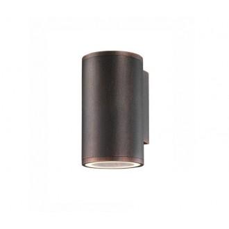 NOVA LUCE 773222 | Nodus-NL Nova Luce rameno stenové svietidlo 1x GU10 IP54 antické hnedé
