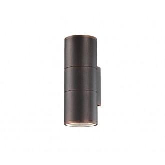 NOVA LUCE 773224 | Nodus-NL Nova Luce rameno stenové svietidlo 2x GU10 IP54 antické hnedé