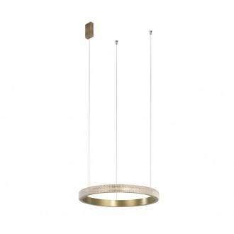 NOVA LUCE 86016803 | Orlando-NL Nova Luce visiace svietidlo 1x LED 1265lm 3000K antická bronzováová, priesvitné