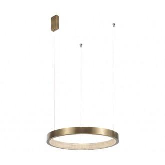 NOVA LUCE 86016808 | Vegas-NL Nova Luce visiace svietidlo 1x LED 1020lm 3000K antická bronzováová