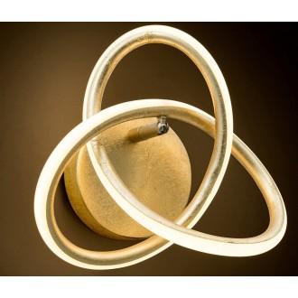 NOVA LUCE 9002606 | Arco-NL Nova Luce stenové svietidlo 1x LED 660lm 3000K zlatý, biela