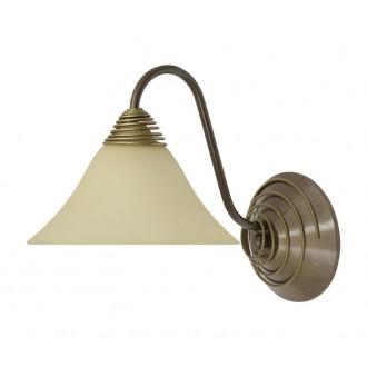 NOWODVORSKI 2994 | Victoria Nowodvorski rameno stenové svietidlo 1x E27 hnedá, béž