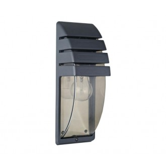 NOWODVORSKI 3393 | MistralN Nowodvorski stenové svietidlo 1x E27 IP44 čierna