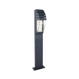 NOWODVORSKI 3394 | MistralN Nowodvorski stojaté svietidlo 100cm 1x E27 IP44 čierna