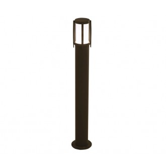 NOWODVORSKI 3396 | Sirocco Nowodvorski stojaté svietidlo 90cm 1x E27 IP44 čierna
