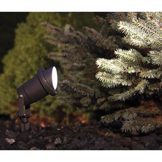 NOWODVORSKI 3401 | Bush Nowodvorski zapichovacie svietidlo 1x GU10 IP65 čierna