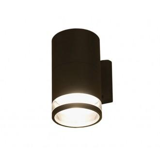 NOWODVORSKI 3405 | RockN Nowodvorski stenové svietidlo 1x E27 IP44 čierna, priesvitná