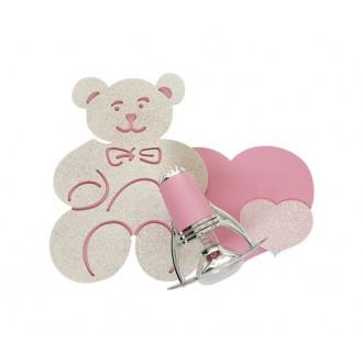 NOWODVORSKI 3656 | Honey Nowodvorski stenové svietidlo otočné prvky 1x E14-R50 ružové, biela