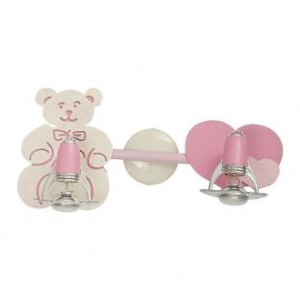 NOWODVORSKI 3657 | Honey Nowodvorski stenové, stropné svietidlo otočné prvky 2x E14-R50 ružové, biela