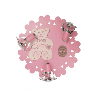 NOWODVORSKI 3661 | Honey Nowodvorski stenové, stropné svietidlo otočné prvky 3x E14-R50 ružové, biela