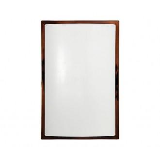 NOWODVORSKI 3755 | Garda Nowodvorski stenové, stropné svietidlo navrhované na úsporné žiarovky 1x E27 IP65 UV hnedá
