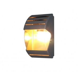 NOWODVORSKI 4390 | MistralN Nowodvorski stenové svietidlo 1x E27 IP44 čierna