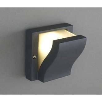 NOWODVORSKI 4437 | Makalu Nowodvorski stenové svietidlo 1x G9 IP44 tmavo sivé