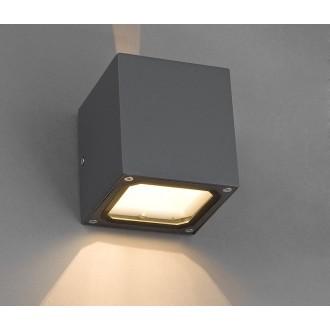 NOWODVORSKI 4443 | Khumbu Nowodvorski stenové svietidlo 1x G9 IP44 sivé