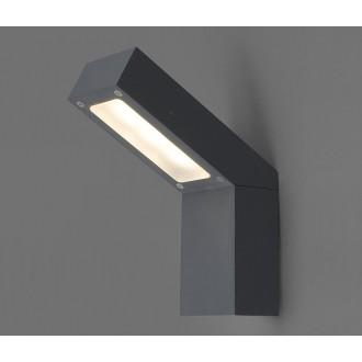 NOWODVORSKI 4447 | Lhotse Nowodvorski stenové svietidlo 3x LED 169lm 3000K IP54 čierna, biela