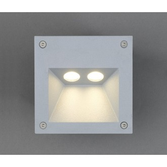NOWODVORSKI 4450 | Rimo Nowodvorski zabudovateľné svietidlo 2x LED 169lm 3000K IP65 hliník