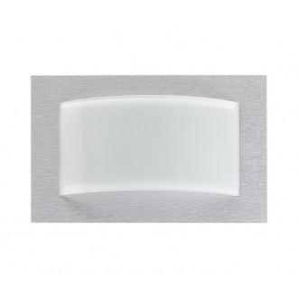 NOWODVORSKI 4525   Hiro Nowodvorski stenové, stropné svietidlo 1x E14 strieborný, biela