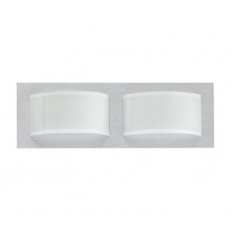 NOWODVORSKI 4526   Hiro Nowodvorski stenové, stropné svietidlo 2x E14 strieborný, biela