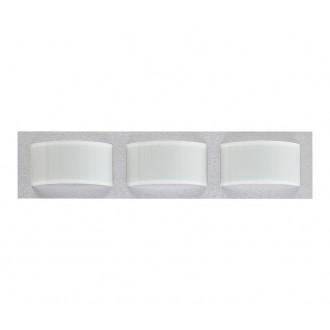 NOWODVORSKI 4527   Hiro Nowodvorski stenové, stropné svietidlo 3x E14 strieborný, biela