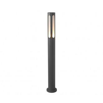 NOWODVORSKI 4698 | Mekong Nowodvorski stojaté svietidlo 100cm 1x E27 IP42 čierna, biela