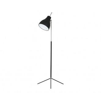 NOWODVORSKI 4750 | ChesterN Nowodvorski stojaté svietidlo 130cm prepínač nastaviteľná výška 1x E27 čierna, chróm