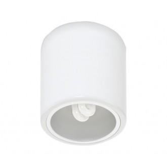 NOWODVORSKI 4865 | Downlight-x Nowodvorski stropné svietidlo navrhované na úsporné žiarovky 1x E27 biela