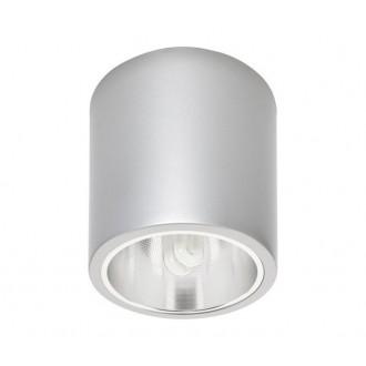 NOWODVORSKI 4867 | Downlight-x Nowodvorski stropné svietidlo navrhované na úsporné žiarovky 1x E27 strieborný