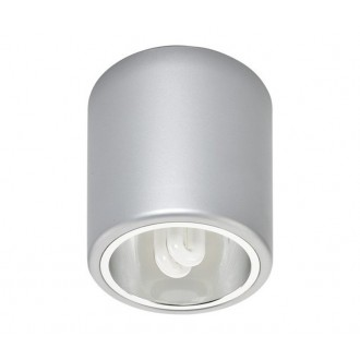NOWODVORSKI 4868 | Downlight_x Nowodvorski stropné svietidlo navrhované na úsporné žiarovky 1x E27 strieborný
