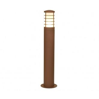 NOWODVORSKI 4906 | HornN Nowodvorski stojaté svietidlo 65cm navrhované na úsporné žiarovky 1x E27 IP44 hnedá, biela