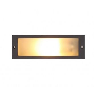 NOWODVORSKI 4907 | InaN Nowodvorski zabudovateľné svietidlo navrhované na úsporné žiarovky 1x E27 IP65 sivé