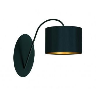 NOWODVORSKI 4958 | AliceN Nowodvorski stenové svietidlo 1x E27 čierna, zlatý