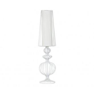 NOWODVORSKI 5125 | Aveiro Nowodvorski stolové svietidlo 43cm prepínač 1x E27 biela