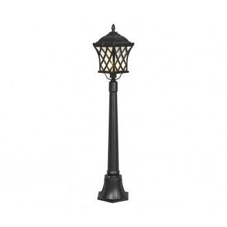 NOWODVORSKI 5294 | Tay Nowodvorski stojaté svietidlo 112cm 1x E27 IP23 čierna, priesvitná