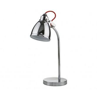 NOWODVORSKI 5311   Axe Nowodvorski stolové svietidlo 40cm prepínač otočné prvky 1x E14 chróm, červená