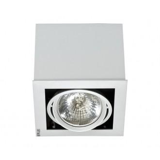 NOWODVORSKI 5315 | BoxN Nowodvorski stropné svietidlo otáčateľný svetelný zdroj 1x G53 / AR111 sivé